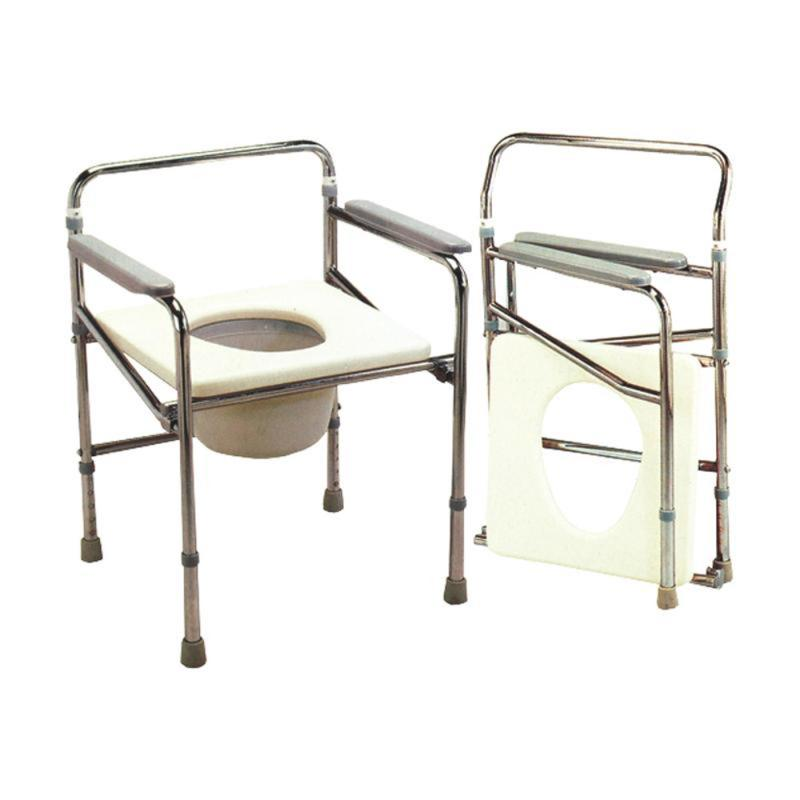 buy kosmocare folding commode chair online at best prices in india kosmochem. Black Bedroom Furniture Sets. Home Design Ideas